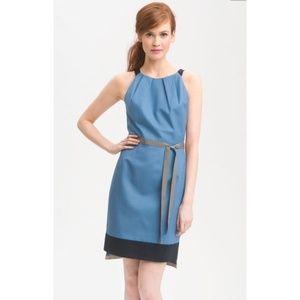 RARE T Tahari Corrina Dress in Bluebell